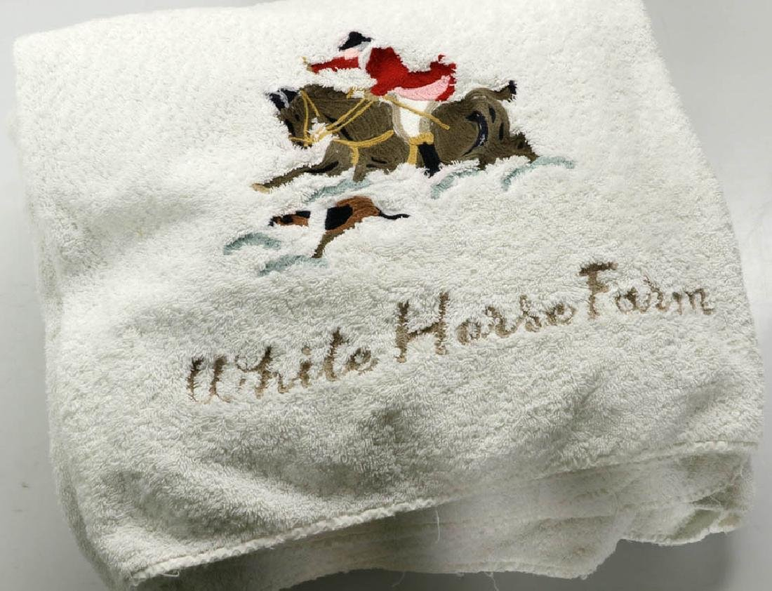 Cittadini Towels, Hand Embroidered - 4