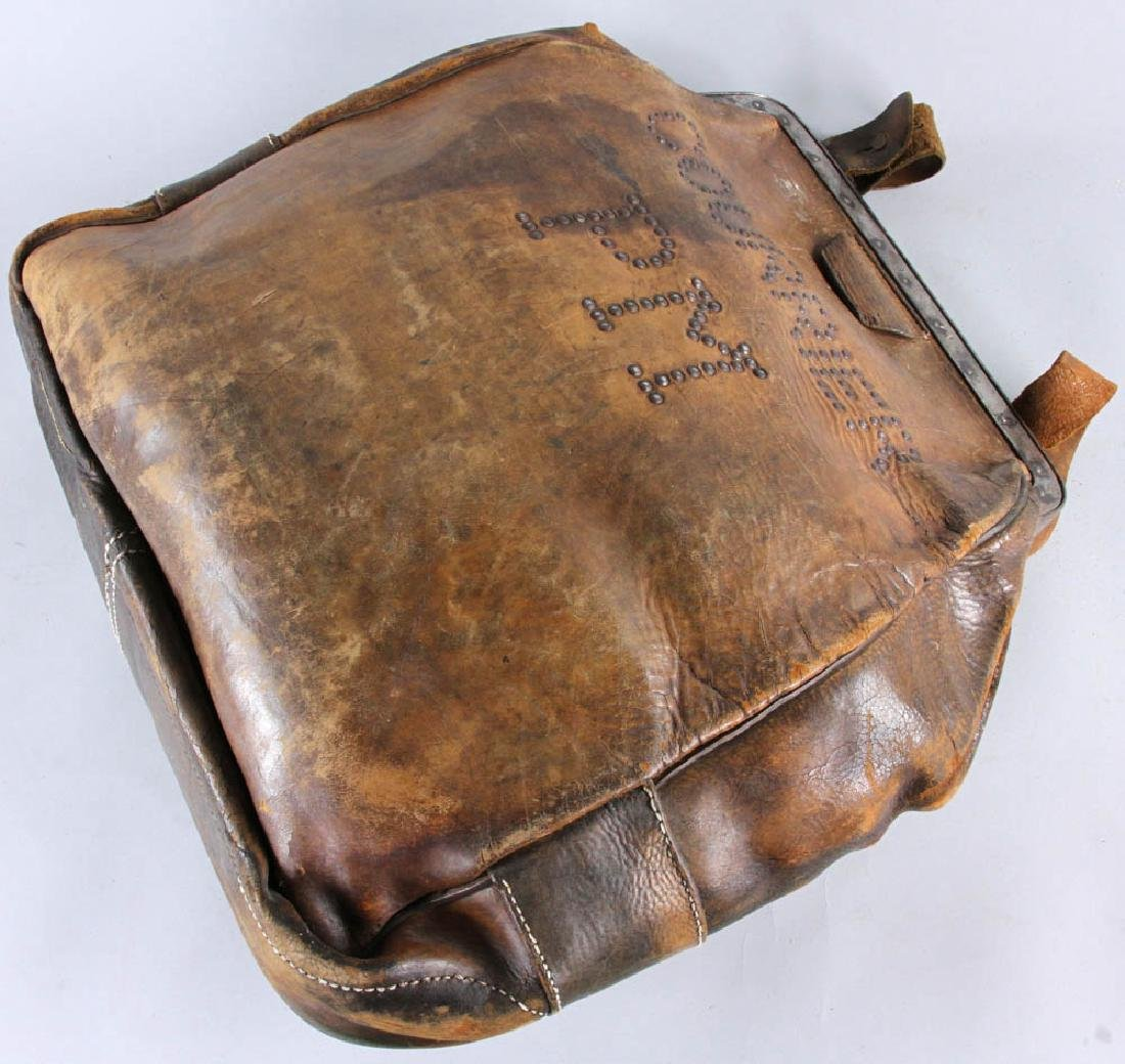 Antique Leather Couriers Bag