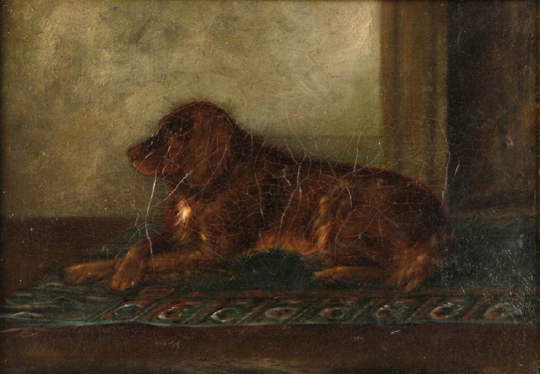 Portrait of English Golden Labrador - 2