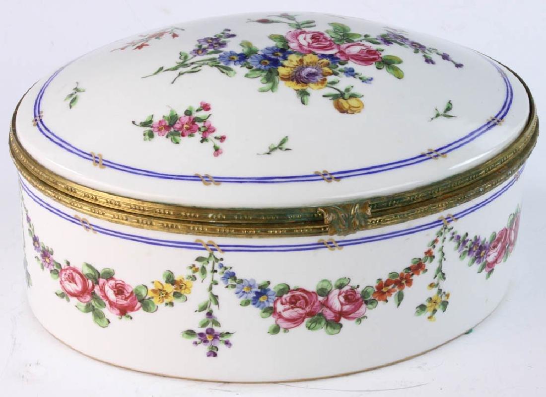 19th Sevres Porcelain Box
