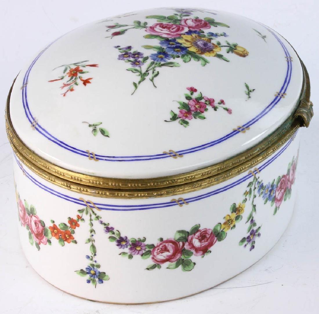 19th Sevres Porcelain Box - 2