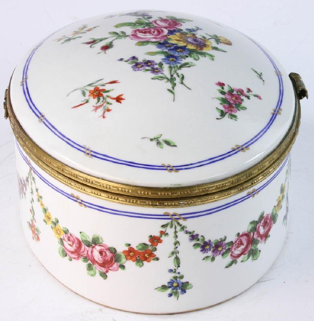 19th Sevres Porcelain Box - 3