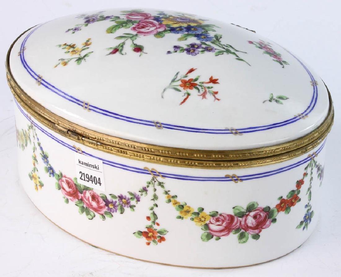 19th Sevres Porcelain Box - 4