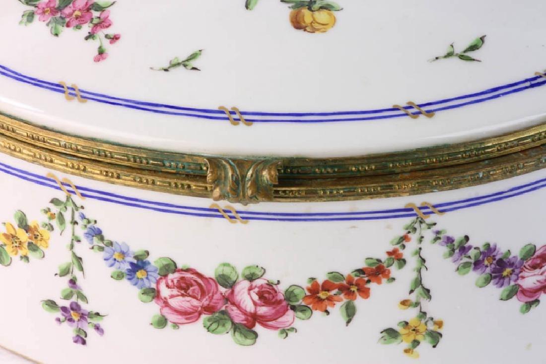 19th Sevres Porcelain Box - 5