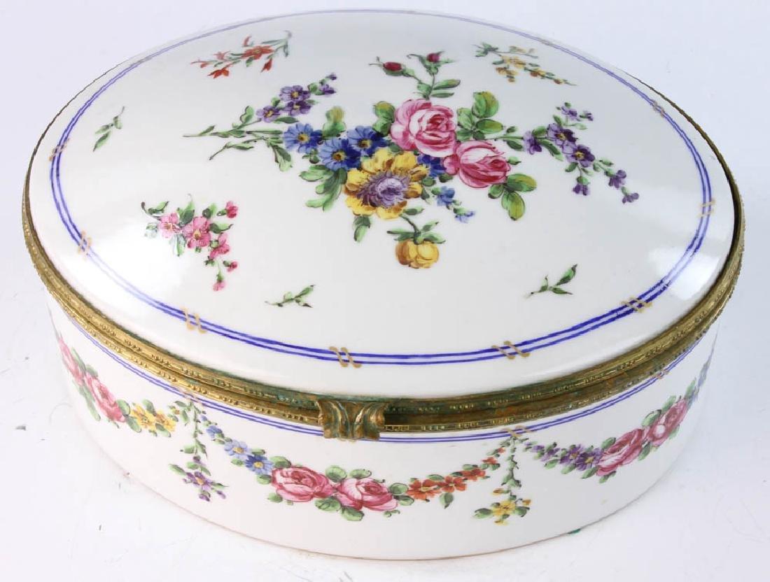 19th Sevres Porcelain Box - 6