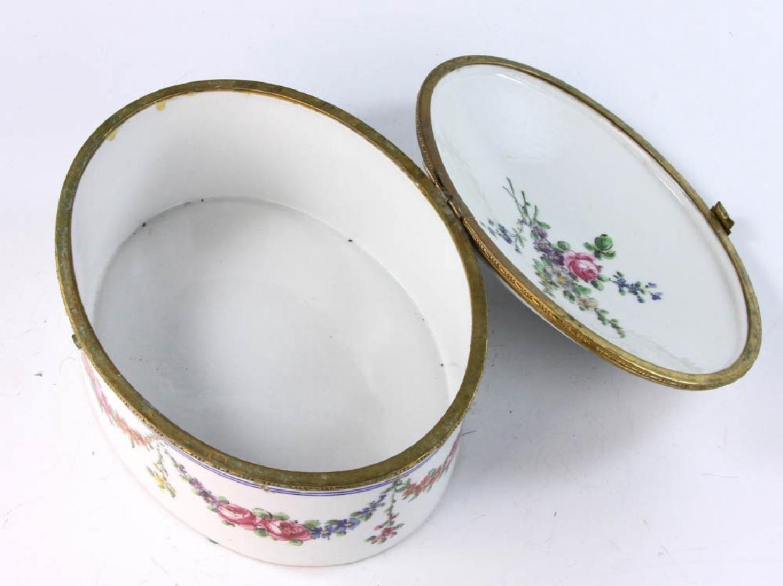 19th Sevres Porcelain Box - 7