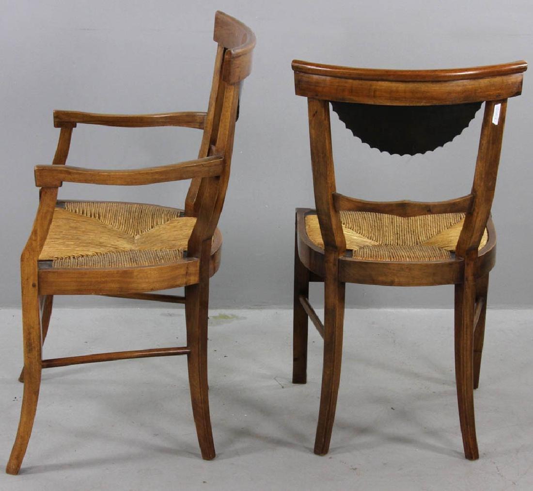 Pair of Antique Biedermeier Chairs - 3