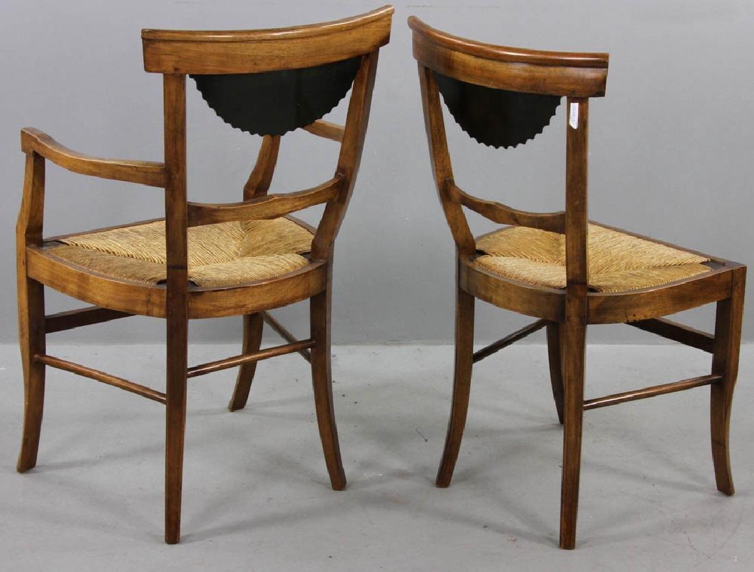 Pair of Antique Biedermeier Chairs - 4
