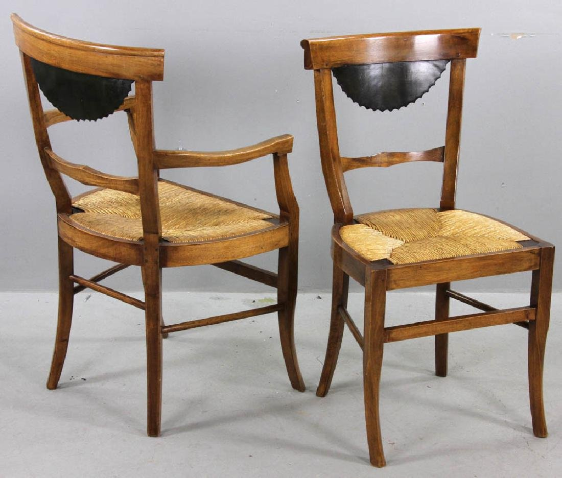 Pair of Antique Biedermeier Chairs - 5