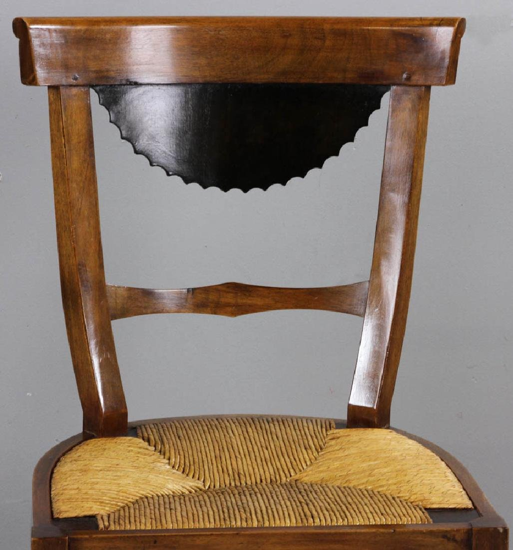 Pair of Antique Biedermeier Chairs - 6