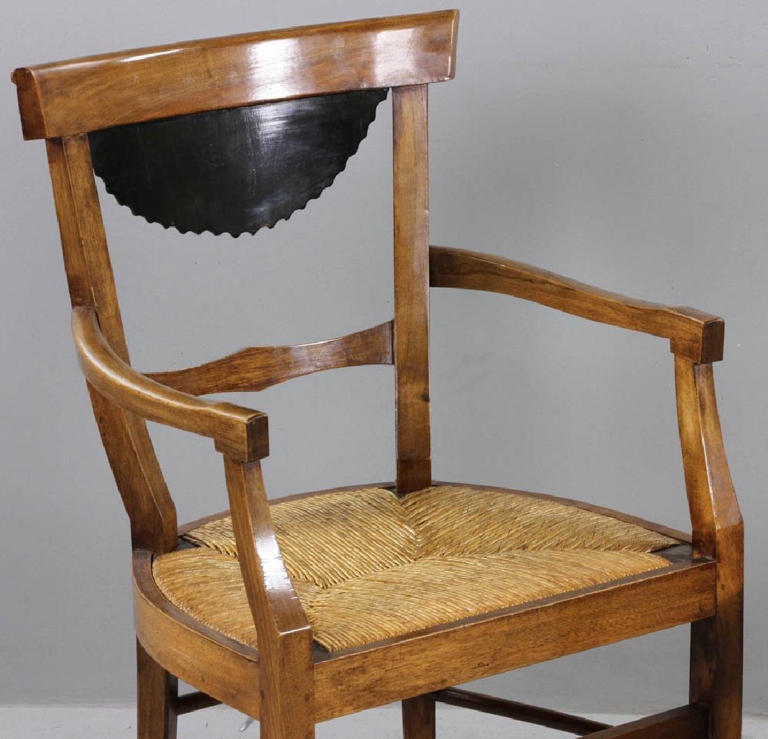 Pair of Antique Biedermeier Chairs - 8