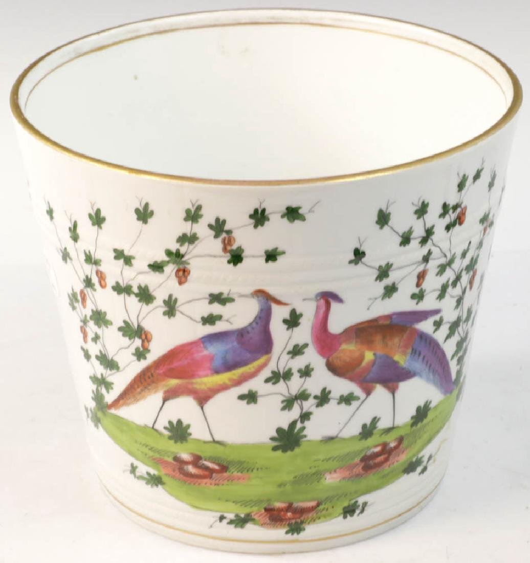 Two 19th C. Continental Porcelain Cachepots - 2