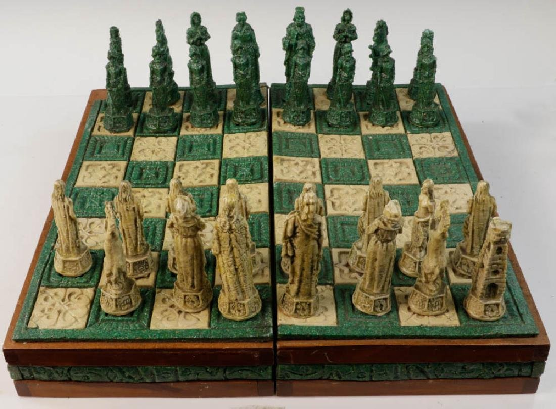 Composition Chess Set in Case - 7