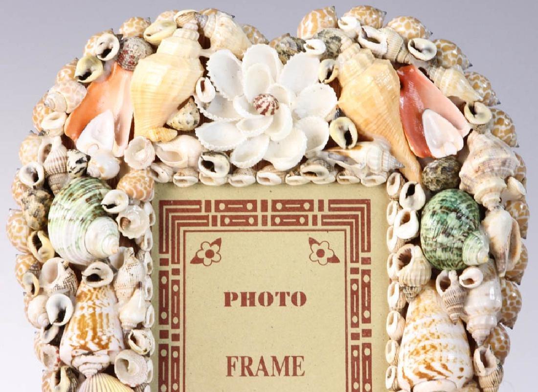 Three Designer Shell Art Frames - 2