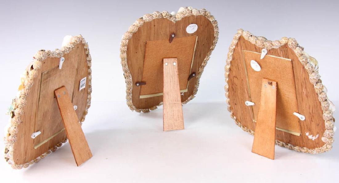 Three Designer Shell Art Frames - 6