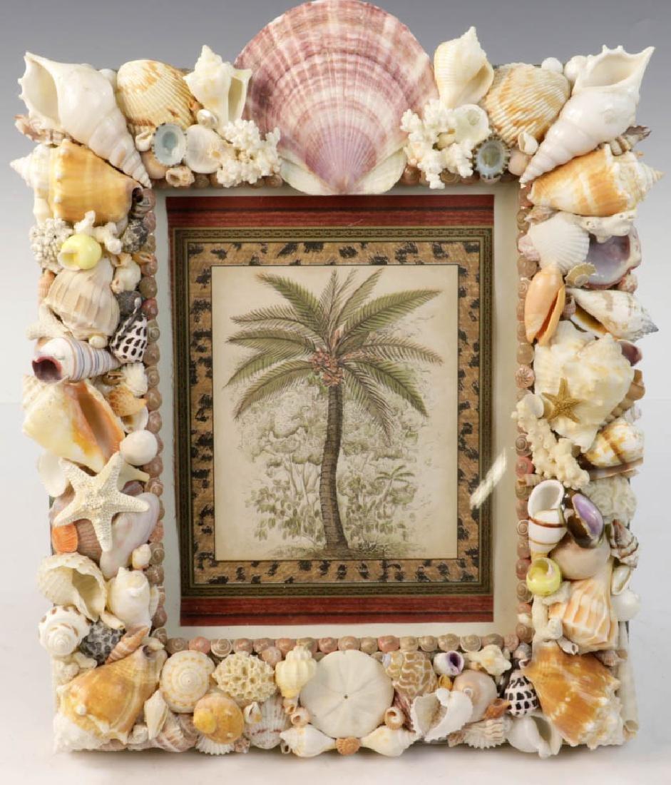 Designer Shell Art Frame