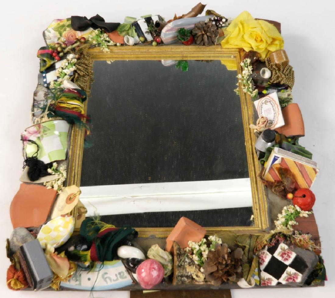 MacKenzie-Childs Designer Mirror