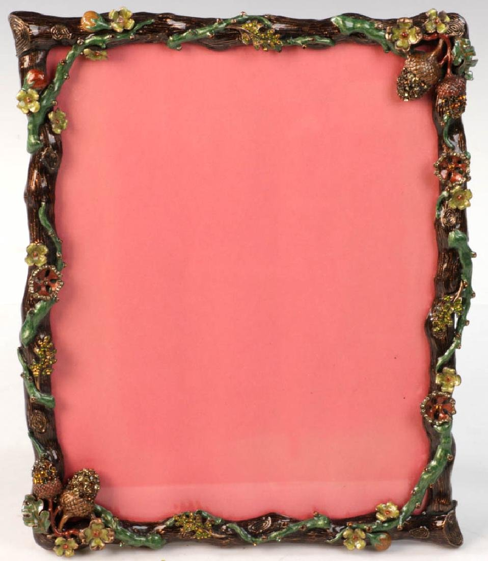 Jay Strongwater Designer Picture Frame