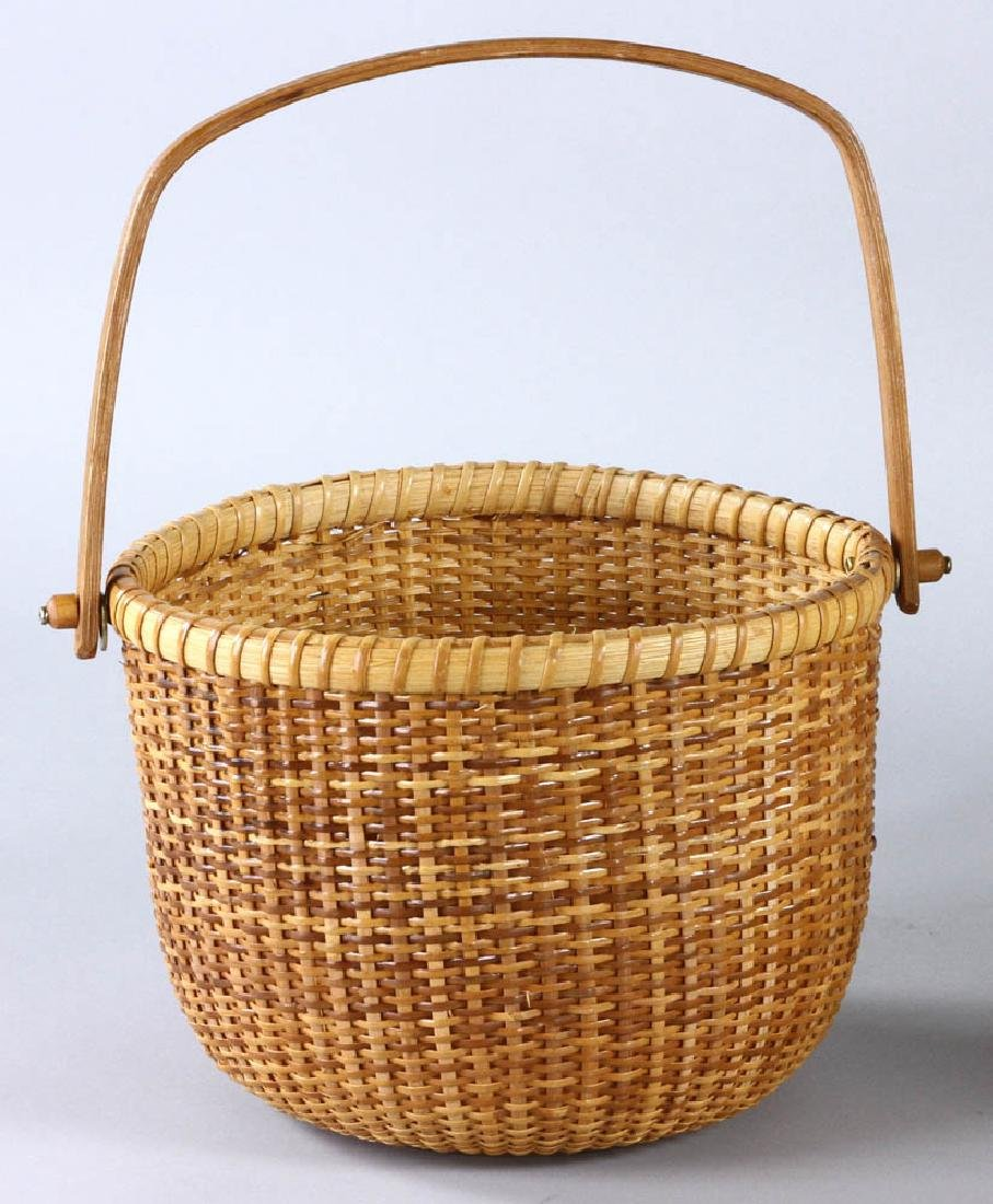 Nantucket Swing Handled Basket - 2