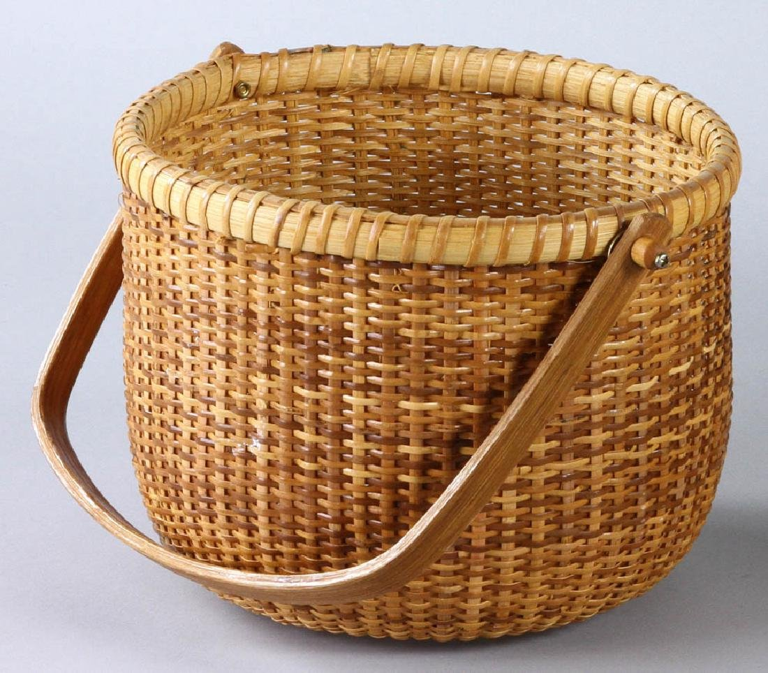Nantucket Swing Handled Basket - 3