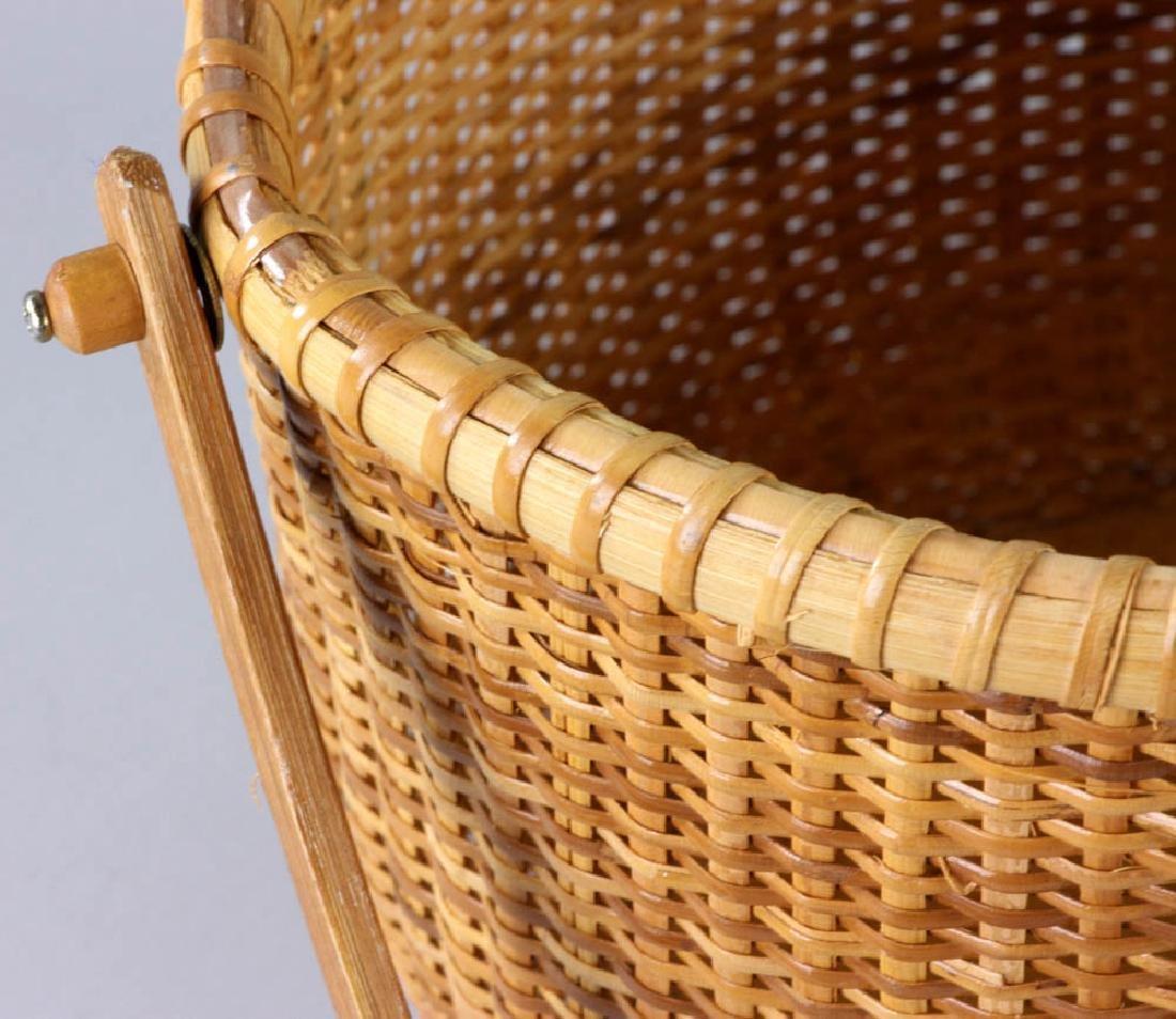 Nantucket Swing Handled Basket - 5