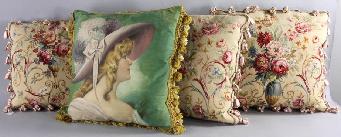 Four Decorative Cushions