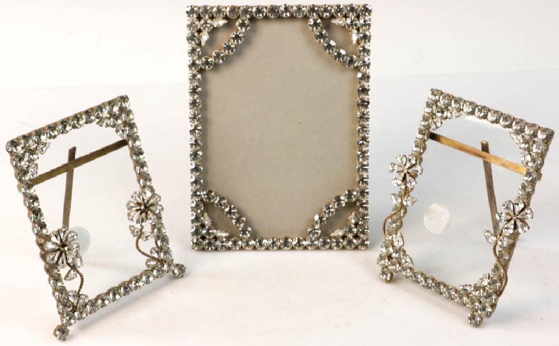 Three Designer Rhinestone Frames