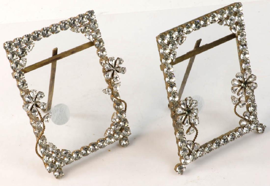 Three Designer Rhinestone Frames - 3
