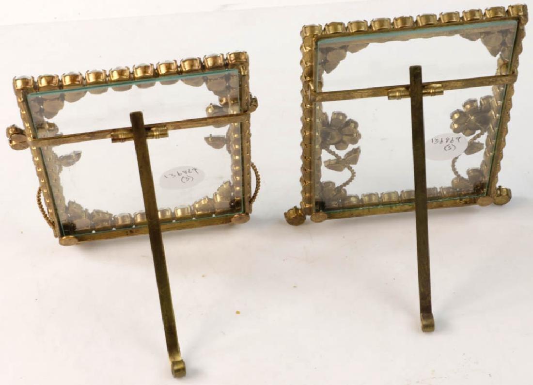 Three Designer Rhinestone Frames - 4