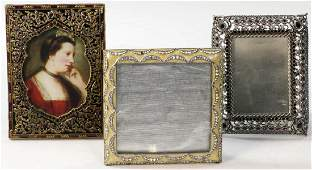 Three Jay Strongwater Picture Frames