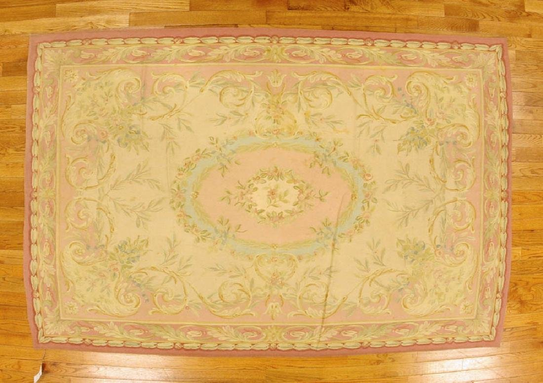 French Aubusson Tapestry Rug