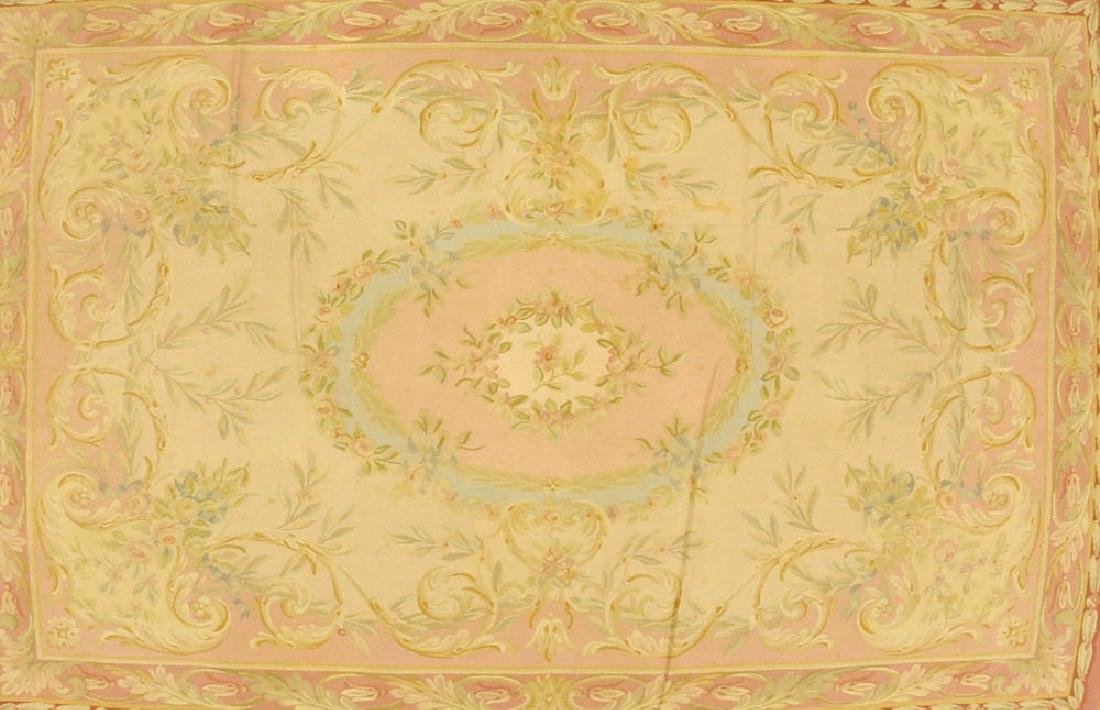 French Aubusson Tapestry Rug - 2