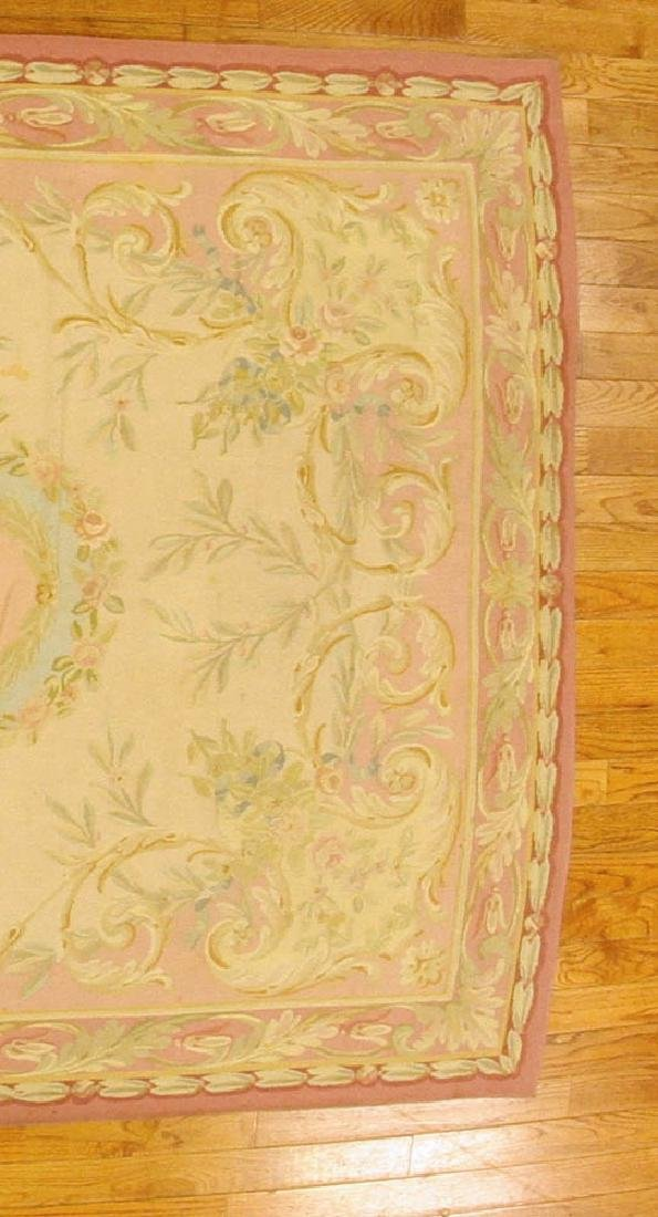 French Aubusson Tapestry Rug - 4