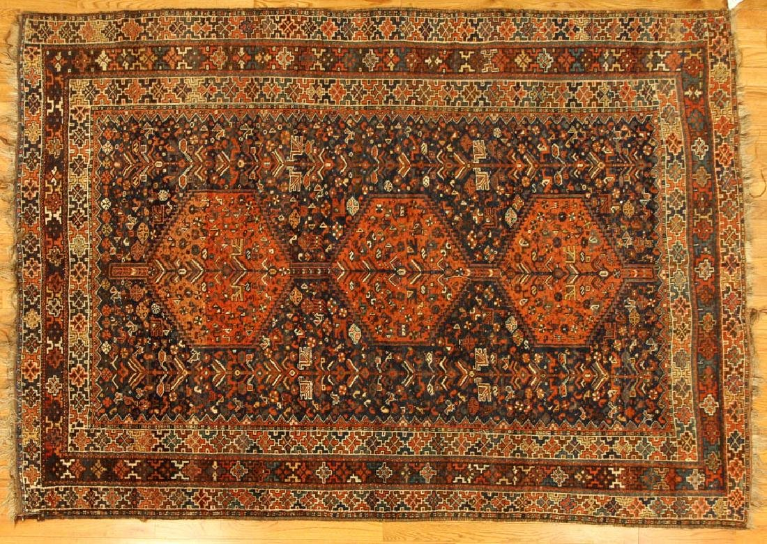 Antique Persian Shiraz Rug