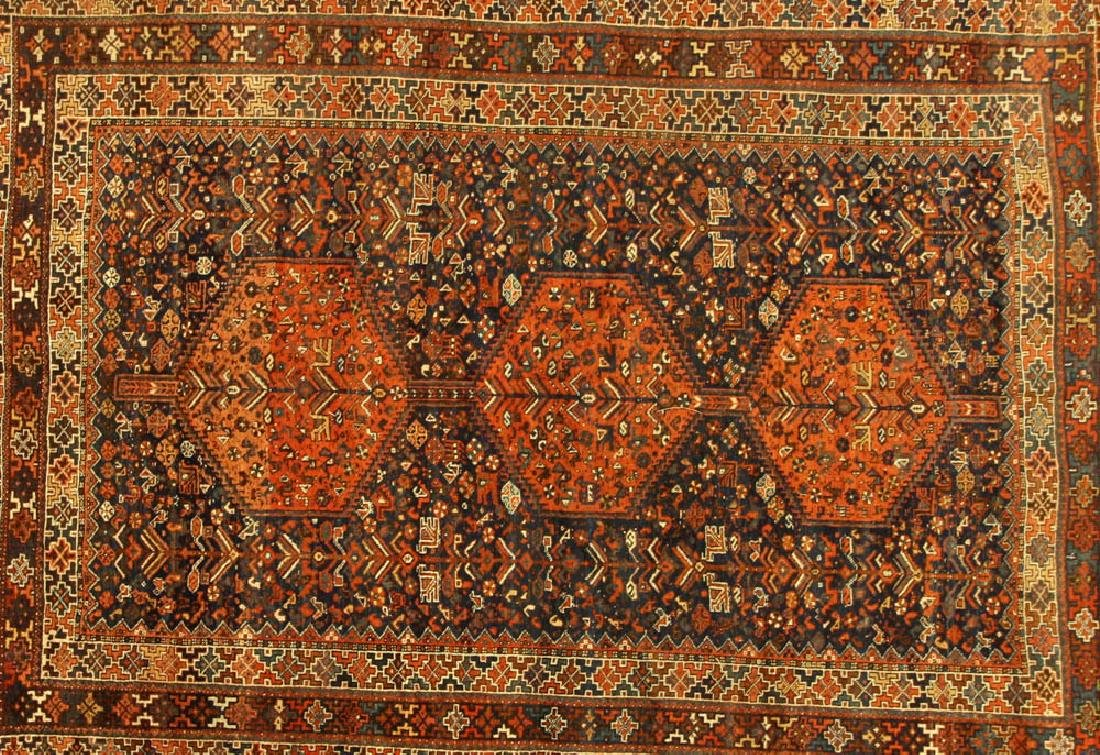 Antique Persian Shiraz Rug - 2