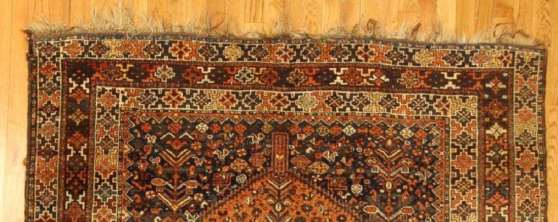 Antique Persian Shiraz Rug - 3