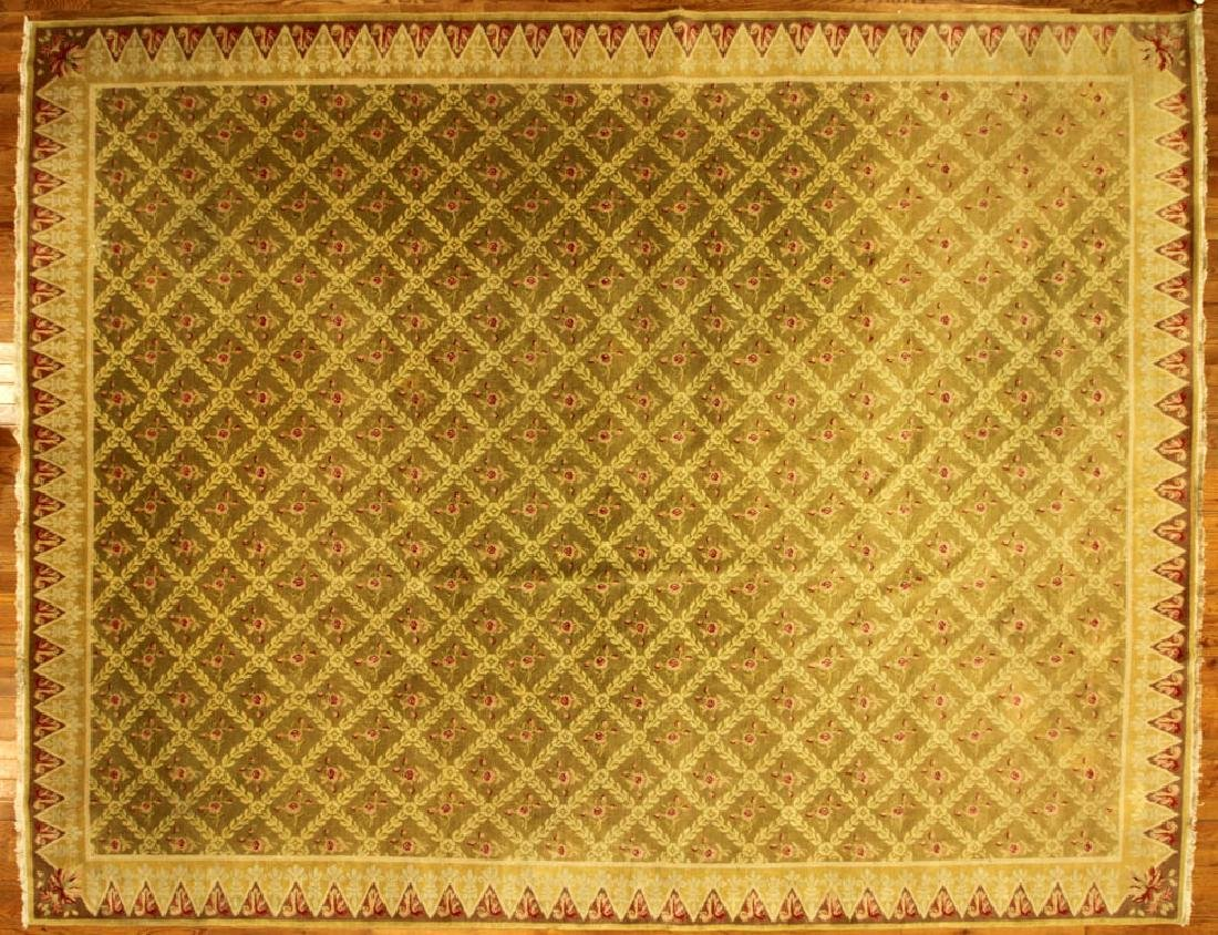 Semi-antique French Regency-style Rug