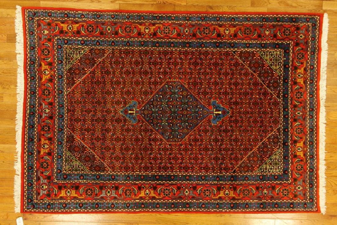 Semi-antique Persian Tabriz/Bidjar Rug