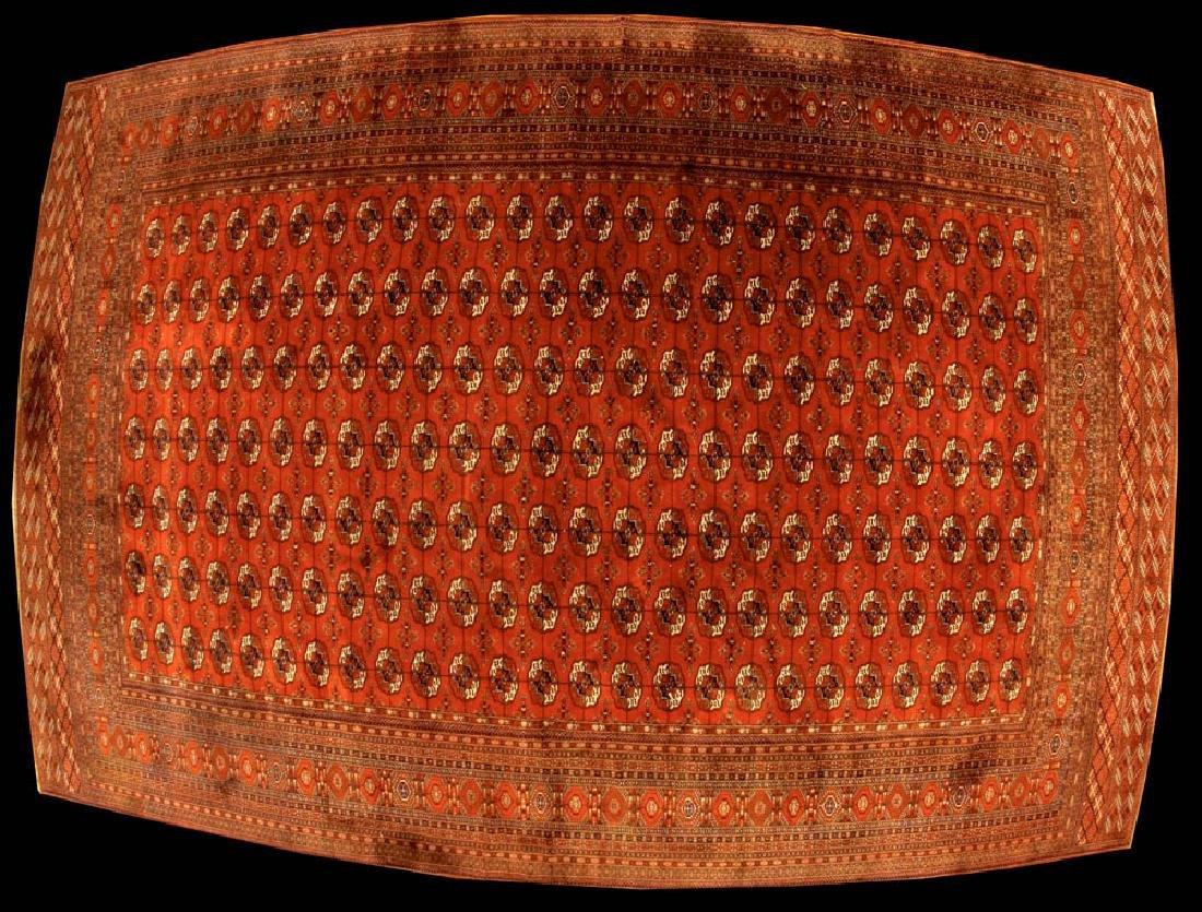 Semi-antique Bokhara Rug