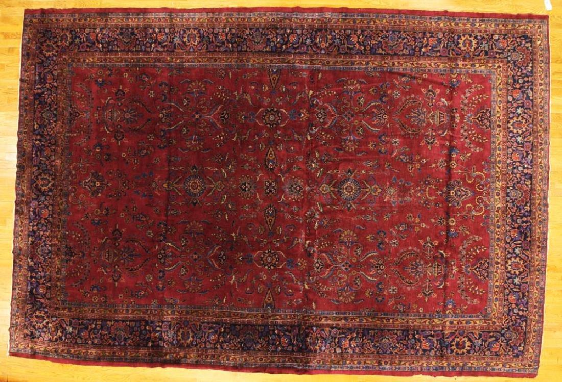 Antique Persian Sarouk-style Rug