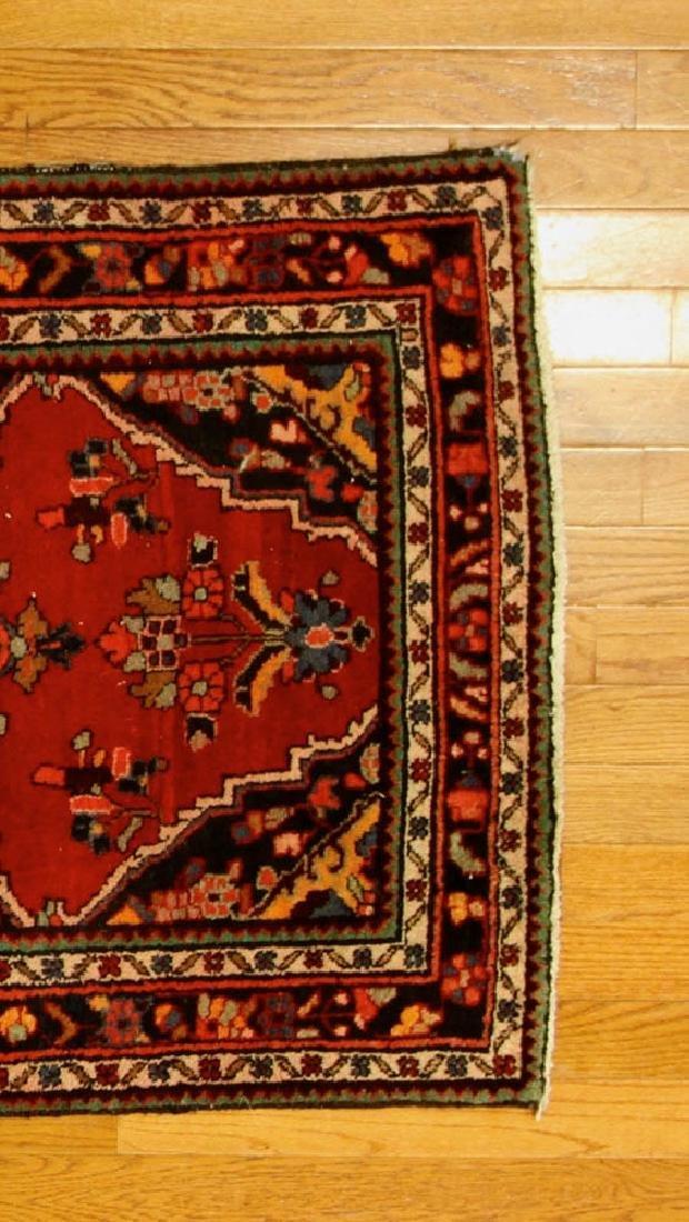 Antique Persian Hamadan Rug - 4