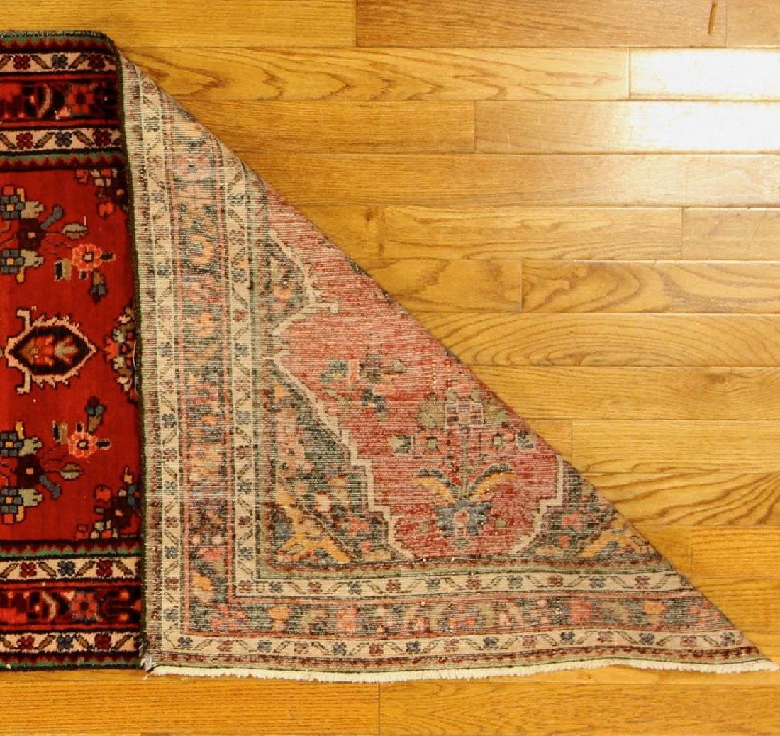 Antique Persian Hamadan Rug - 6