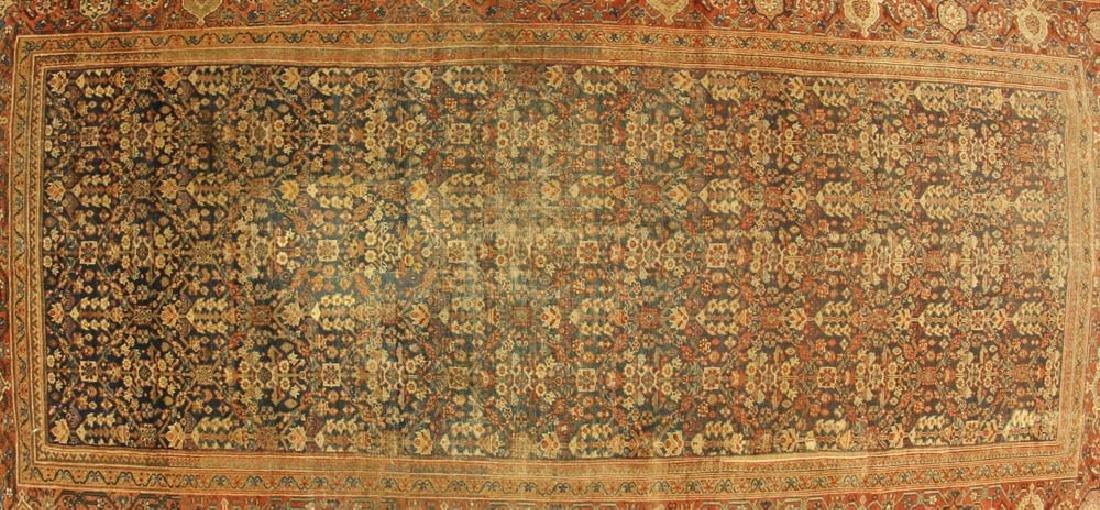 Antique Persian Mahal Rug - 2