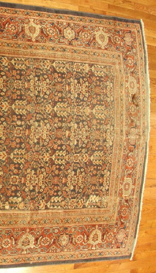 Antique Persian Mahal Rug - 3