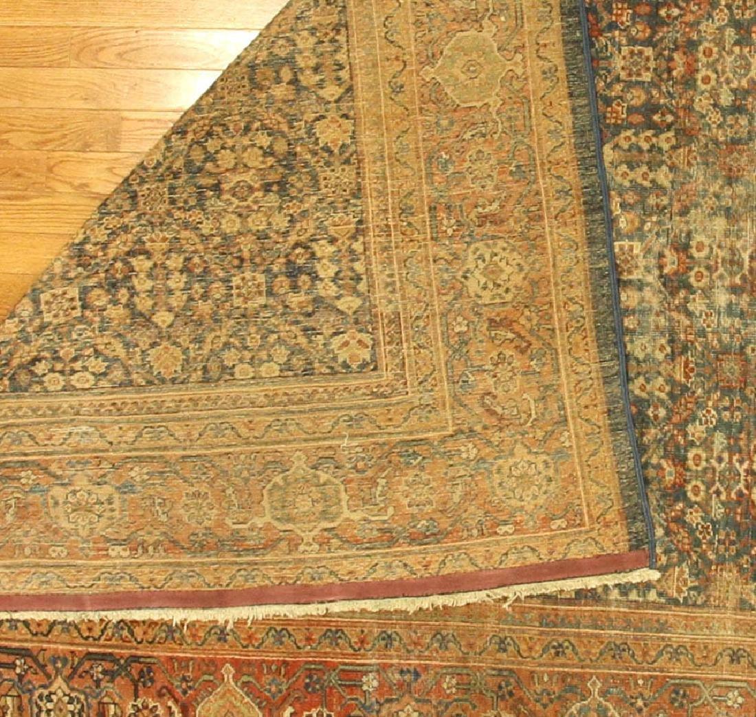 Antique Persian Mahal Rug - 4