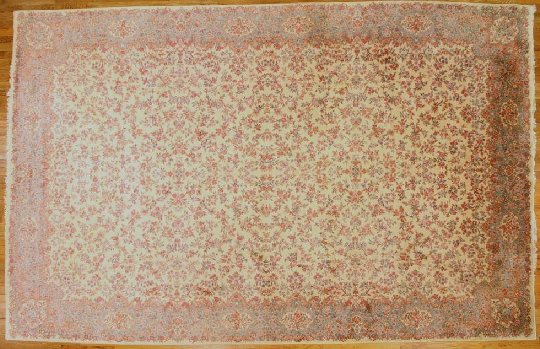 Fine Persian-style Kerman Karastan Rug