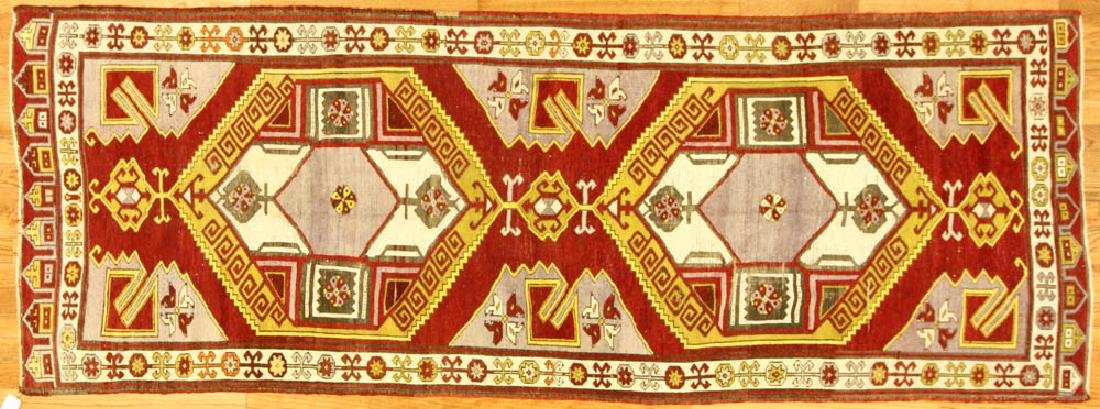 Antique Caucasian Anatolian Runner