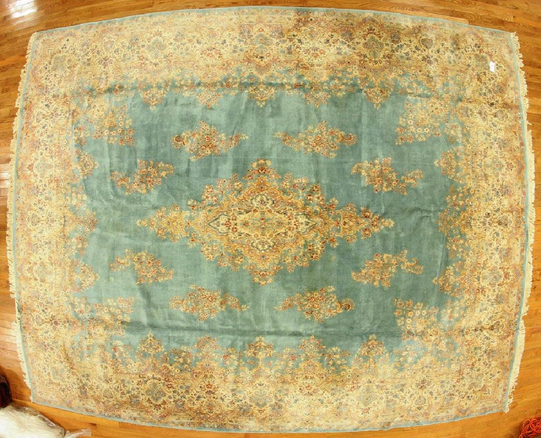 Exceptional Antique Persian Kerman Rug