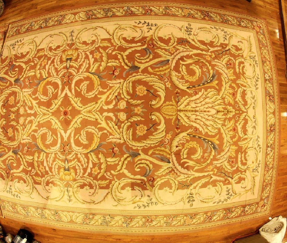 Fine French Aubusson Needlepoint Rug