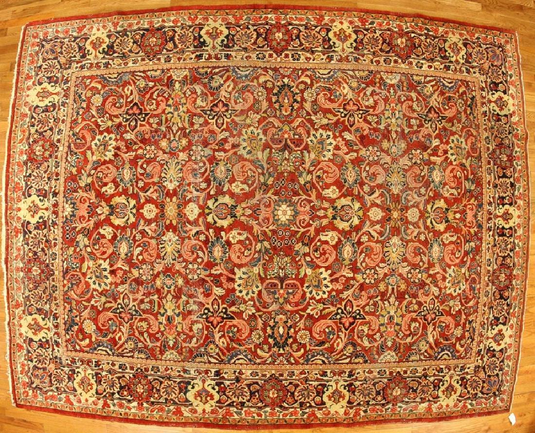 Antique Persian Lilihan Rug